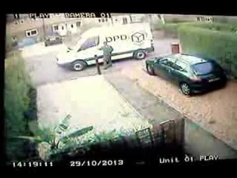 DPD Delivery Driver and how not to report an accident