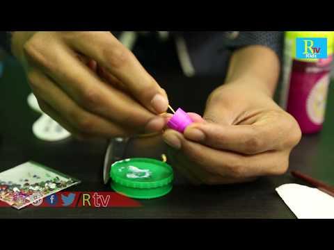 how to make quilling rings | home made rings | shekar |RTV Kids