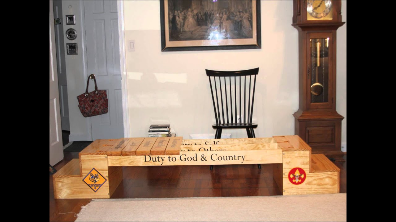 Cub Scout To Boy Scout Crossover Bridge Youtube