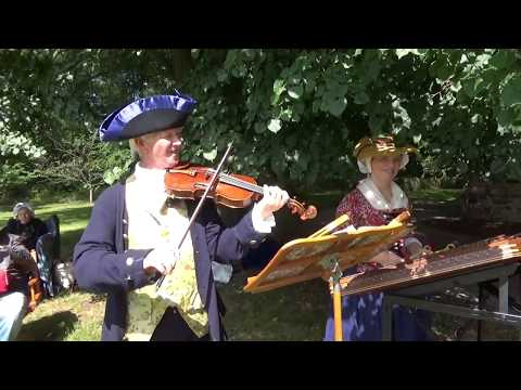 Colonial Era Music And Dancing At The Conference House on Staten Island, NY