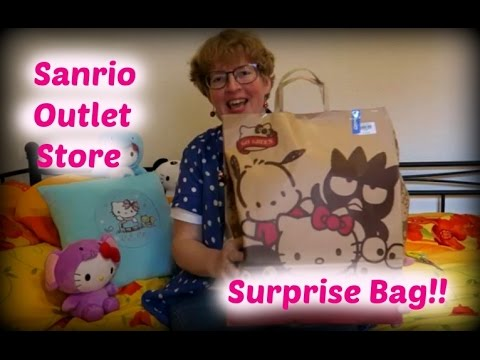 Sanrio Outlet Store Surprise Bag!! (blind bag)