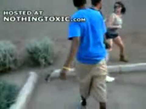 Girl Drops A Dude Lolgets Crazy Over A Pumpkin Youtube