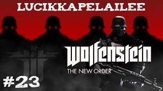 Wolfenstein: The New Order - 23 - Räjähtävä loppu!