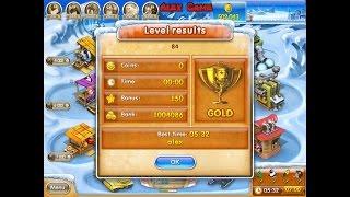 farm Frenzy 3 Ice Age (level 84) only GOLD Веселая ферма 3 Ледниковый период (уровень 84) Золото
