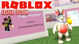 IT'S EASTER! -Roblox Easter Tycoon English
