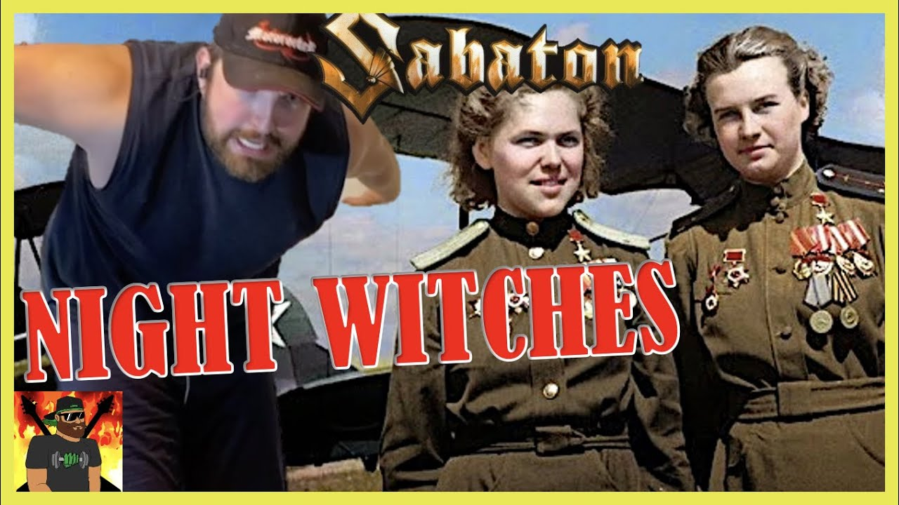 To the Ladies of The 25th   SABATON   Night Witches OFFICIAL LYRIC  VIDEO   REACTION