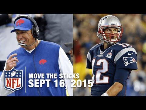 Tom Brady vs. Rex Ryan and Best Tight Ends | Move The Sticks 9/16/15 | NFL