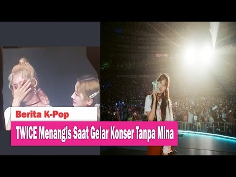 Girlband TWICE Menangis Saat Gelar Konser Tour Tanpa Mina di Singapura Mp3
