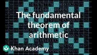 The fundamental theorem of arithmetic | Computer Science | Khan Academy
