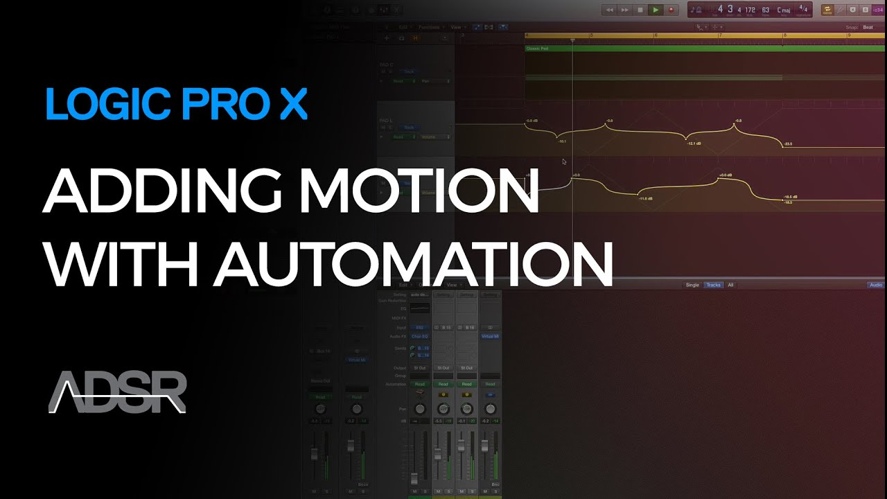 Adding Motion with M-S Style Automation in Logic Pro X