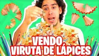 VENDO VIRUTA DE LAPICES DE COLORES | Crazy Random Tag | HaroldArtist