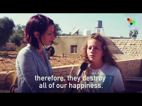 Abby Martin Interviews Ahed Tamimi