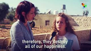 From i.ytimg.com: Abby Martin Interviews Ahed Tamimi videosenglish.telesurt v.net/video/697367/abby-martin -interviews-ahed-tamimi/ {MID-241156}