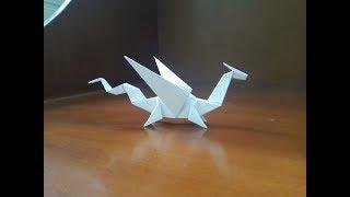Origami Easy Dragon - H๐w To Make a paper dragon