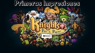 Knights of Pen and Paper | Primeras impresiones | Gameplay en Español