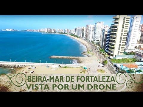 Sobrevoando a Av. Beira-Mar de Fortaleza-CE [Drone Fortaleza]
