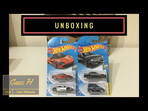 Unboxing - Hot Wheels Case H 2018 (Original Sealed)
