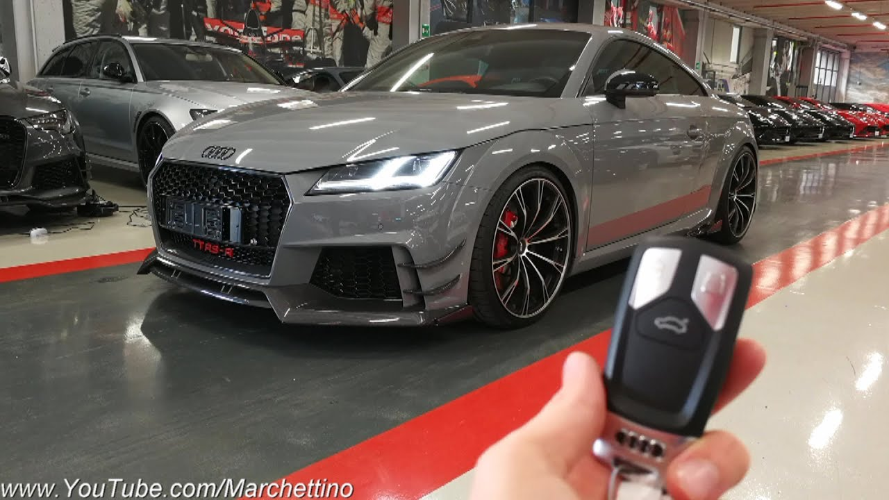 This 500hp Audi Tt Rs R Abt Is Insane Sub Eng