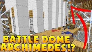 Minecraft AIRSHIP MODDED BATTLEDOME CHALLENGE - Minecraft Mod