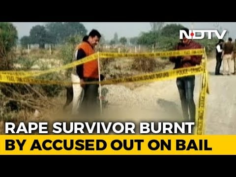 Rape Survivor Set On Fire On Way To Court In UP's Unnao