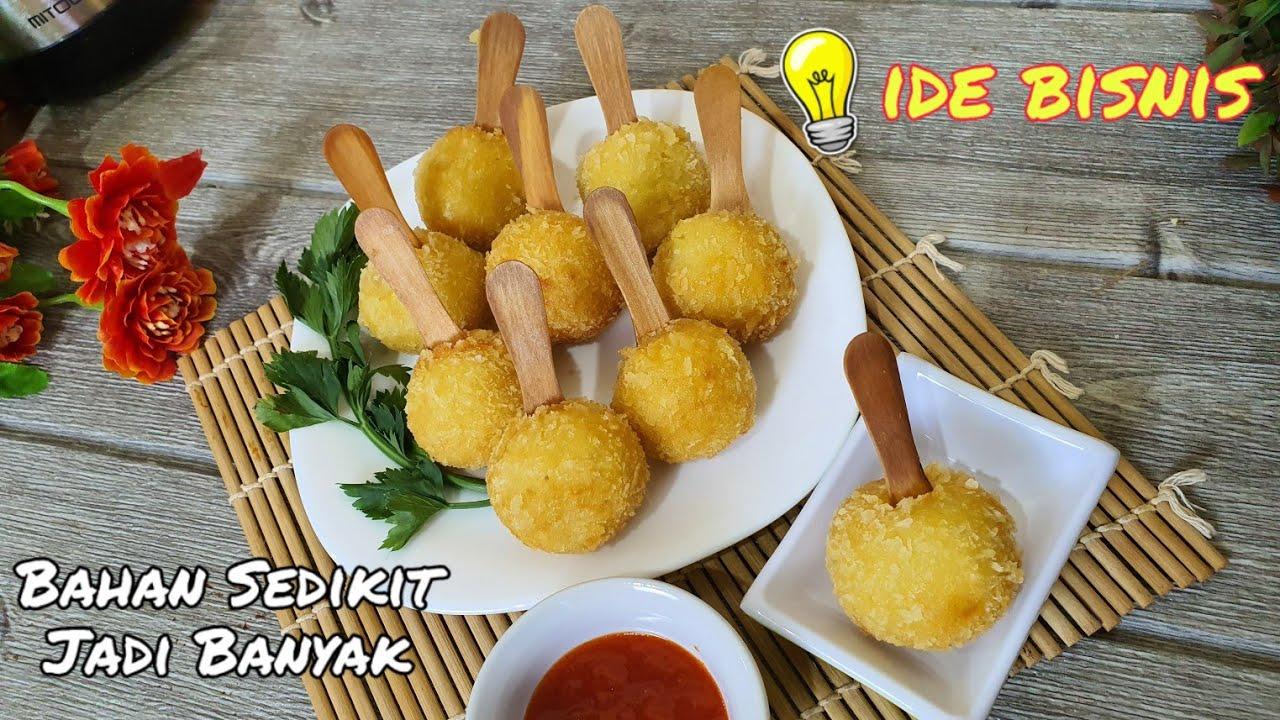 Resep Makanan Kekinian Untuk Jualan Pompom Potato Modal Dikit