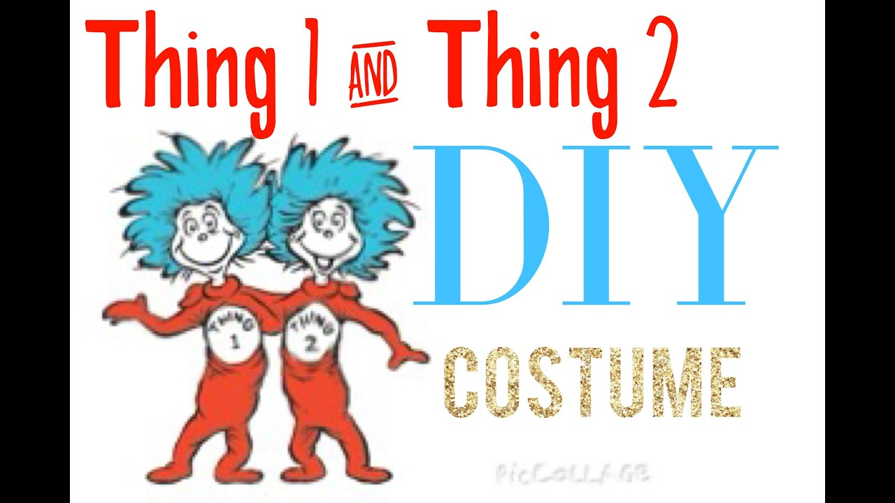 Thing 1 And Thing 2 Costumes Diy | www.pixshark.com ...