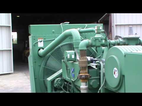 Cummins Natural Gas Generator Set Run