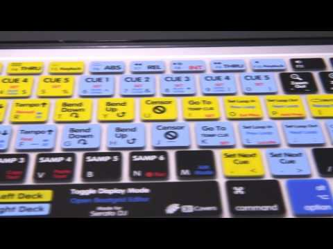 DJAY KEYBOARD STICKERS