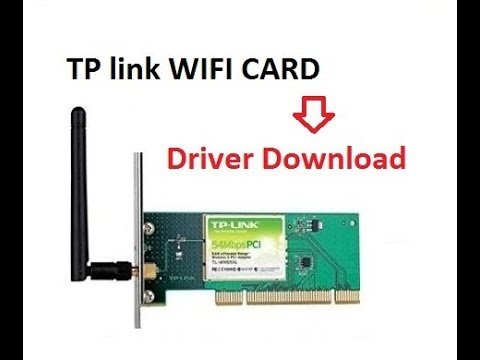 How to Download and install TP-Link TL-WN350G Wireless V1