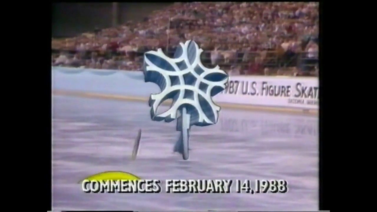 Channel Nine (GTV-9) Australia- 1988 Winter Olympics Diary Advertisement-  February 1988
