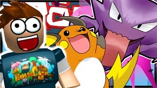 RAICHU AND HAUNTER EVOLUTION!! | Roblox Pokemon Brick Bronze | Ep 7