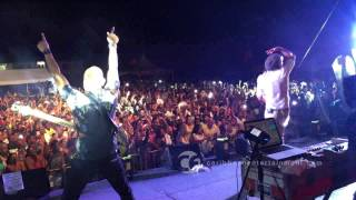 Kes the Band performs Wotless at Carnival Overload 2015, their first concert in Belize
