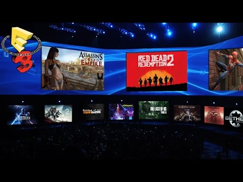 E3 2017 Preview - Red Dead Redemption 2, Assassin's Creed Empire, Cyberpunk 2077, TLOU 2 & More! thumbnail