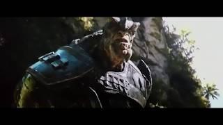 Халк: ну что ты, сволочь, Зеленая Скотина! Обойдусь без тебя!))) Мстители: Война Бесконечности