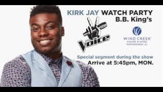 News hot: The Voice Finalist Kirk Jay Had to Overcome Difficult Childhood
