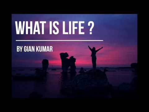 What is life by Gian Kumar
