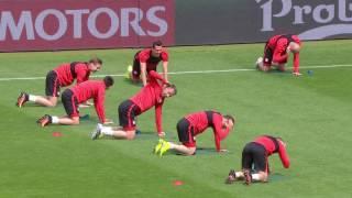 Poland training at the Stade de France - 15.06