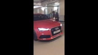 Эрик Давидыч забирает Audi RS6