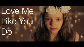 Video Ellie Goulding - Love Me Like You Do - Cover by 12 Year Old Sapphire download MP3, 3GP, MP4, WEBM, AVI, FLV September 2018