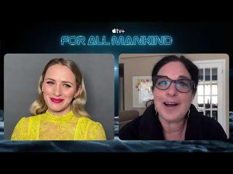 FOR ALL MANKIND ( SEASON 2) – SHANTEL VanSANTEN INTERVIEW ( 2021)