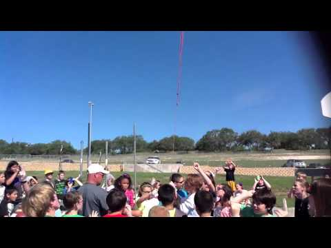 Startzville Elementary School 5th Grade Science Project Weather Balloon 2014