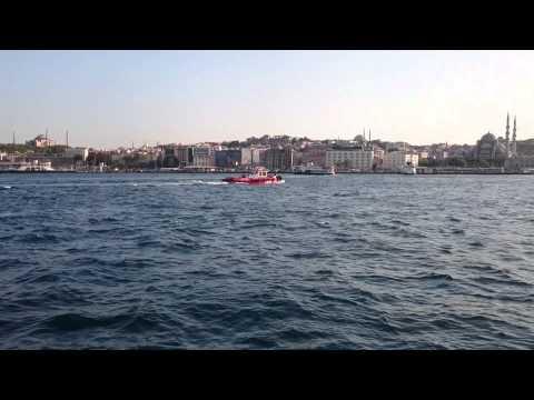 Istanbul view from Kadiköy