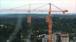 Работа башенного крана - аренда башенных кранов на Unirenter.ru(Башенный кран строит сам себя. Ведете строительство и потребовался башенный кран? Берите его на Юнирентер..., 2016-04-07T05:20:51.000Z)