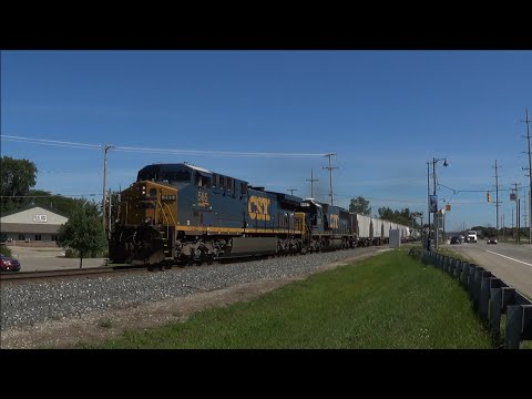 TRRS 390: CSX Manifest Q327 at Hudsonville, Michigan