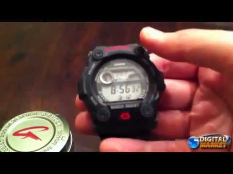 2d88c762f72 Relogio Casio G Shock Unboxing G 7900 - YouTube