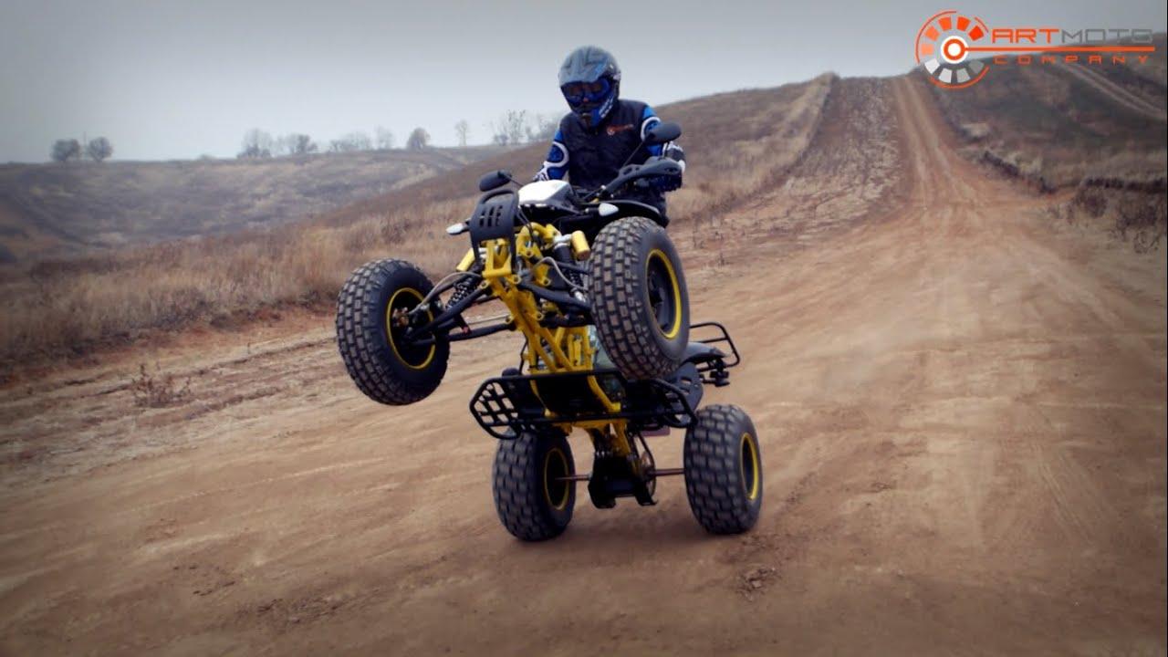 Продажа спортивных квадроциклов Suzuki. Обзор квадроцикла Suzuki .