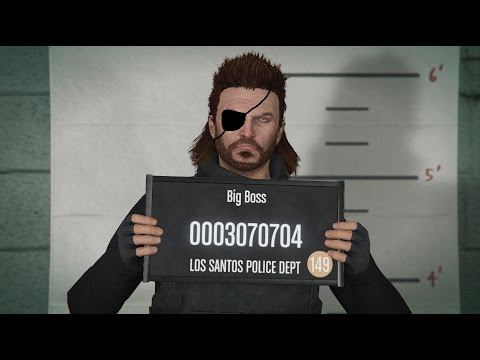 how to make snake big boss grand theft auto online