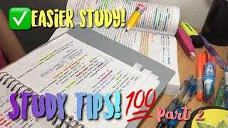 READY FOR EXAM 📒✏️♥︎  STUDY TIPS PART 2!!