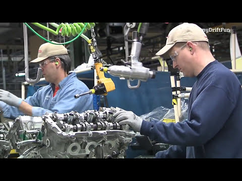 Toyota Engines Production