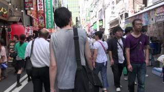秋葉原② 駅から一つ奥の道を末広町方面へ 散歩 2012年9月8日(土)
